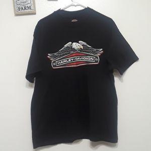 Harley-Davidson Raleigh NC Sz XL black T-shirt
